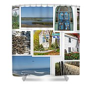 Wonderful Wellfleet Shower Curtain