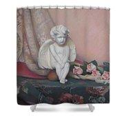 Wondering Cupid Shower Curtain