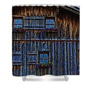 Wonderland-3 Shower Curtain