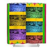 Wonderworks  Shower Curtain