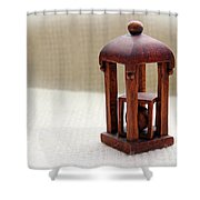Wood Carving By George Wood Shower Curtain