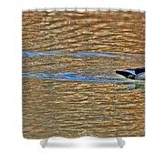 Wood Duck Shower Curtain