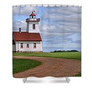 Wood Islands Lighthouse - Pei Shower Curtain