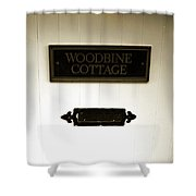 Woodbine Cottage - In Bakewell Town Peak District - England Shower Curtain