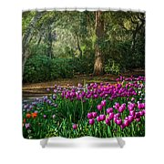 Wooded Bliss Shower Curtain