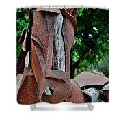 Wooden Horse15 Shower Curtain
