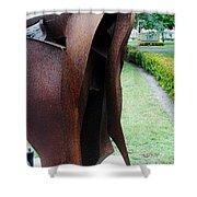Wooden Horse5 Shower Curtain