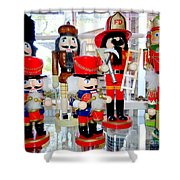 Wooden Soldiers Shower Curtain