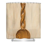 Wooden Spoon 1 A Shower Curtain