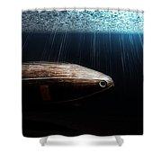 Wooden Submarine Ictineo II Dv Shower Curtain