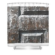 Wooden Times 4 Shower Curtain
