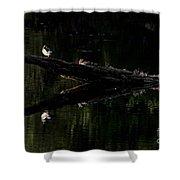 Woodies Shower Curtain