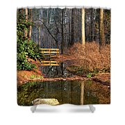 Woodland Bridge 2014 Shower Curtain