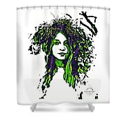 Woodland Faerie Shower Curtain