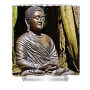 Woodland Meditation Shower Curtain