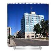 Springfield Missouri - Woodruff Building Shower Curtain