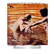 Woodstock Cover 2 Shower Curtain