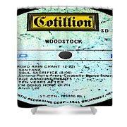 Woodstock Side 4 Shower Curtain
