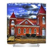 Woodville Baptist Church 2 Shower Curtain