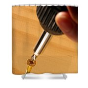 Woodworking  Shower Curtain