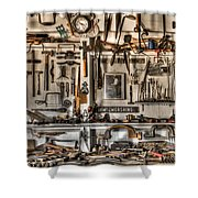 Woodworking Tools Shower Curtain