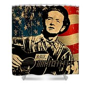 Woody Guthrie 1 Shower Curtain