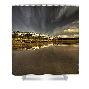 Woolacombe Beach Shower Curtain