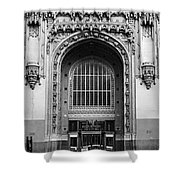 Woolworth Building Entrance Shower Curtain