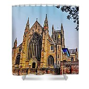 Worcester Cathedral Shower Curtain