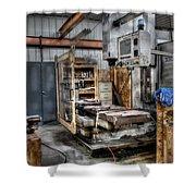Work Station Machinst Style Shower Curtain