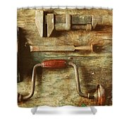 Work Tools Shower Curtain