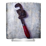 Work Wrench Shower Curtain