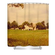 Working Barns And Landscape Shower Curtain