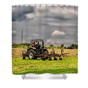 Working The Land Shower Curtain
