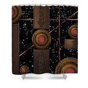 Workings Of The Universe Shower Curtain
