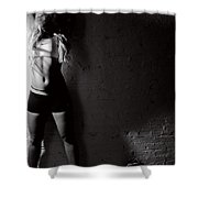 Workout Shower Curtain