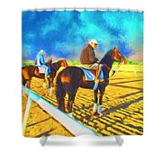 Workout Ready Shower Curtain