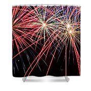 Works Of Fire II Shower Curtain