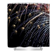 Works Of Fire Vi Shower Curtain