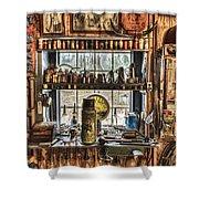 Workshop Shower Curtain