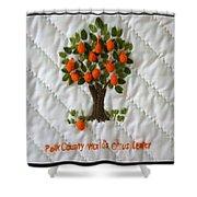 World Citrus Center Shower Curtain