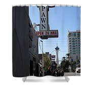 World Famous Gold And Silver Pawn Shop Shower Curtain