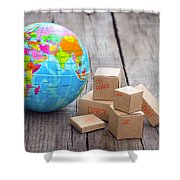 World Import And Export Shower Curtain