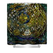 World In Crisis Calls For Peace Shower Curtain