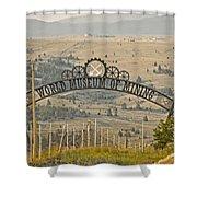 World Museum Mining Shower Curtain