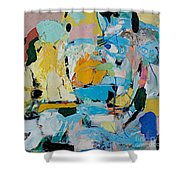 World Of Action Shower Curtain