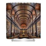 World Of Books Shower Curtain