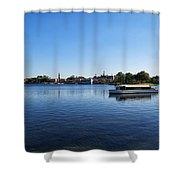 World Showcase Lagoon Walt Disney World Shower Curtain