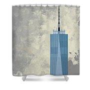 World Trade Center One Shower Curtain