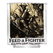 World War 1 - U. S. War Poster Shower Curtain